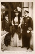 King George V and Queen Mary with the Prince of Wales