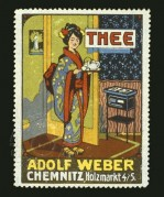 Advert for Adolf Weber Thee