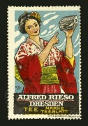 Advert for Alfred Rieso Tee