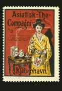Advert for Asiatisk The