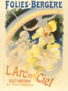 Poster for The Folies-Bergere featuring a Pantomime Ballet