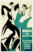 Poster for Dancing to Decca Records