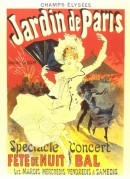 Poster for 'Party Prom Night' in the Paris Gardens