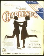 Music cover for the 'Charleston' by Cecil Mack and Jimmy Johnson