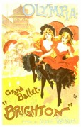 Poster for the Grand Ballet in Brighton