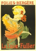 Poster for La Loie Fuller at the Folies-Bergere