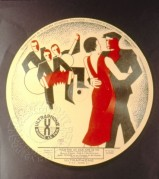 Record cover for Ultraphone, featuring two dancers