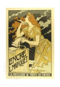 Advert for Encre L. Marquet Inks