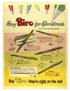 Advert for Biro Ballpoint Pens