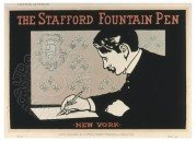 Advert for The Stafford Fountain Pen