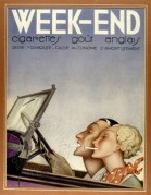 Advert for Week-End Cigarettes