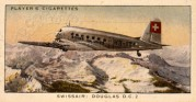 Cigarette Card – Swissair