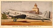 Cigarette Card – United Airlines