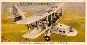Cigarette Card – Imperial Airways