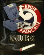 Advert for Gauloises Cigarettes