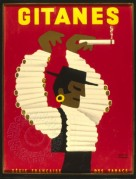 Advert for Gitanes Cigarettes