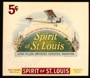 Spirit of St. Louis Cigar Tin