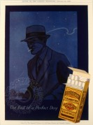 Advert for Wills Gold Flake Cigarettes