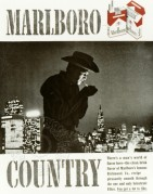 Advert for Marlboro Cigarettes