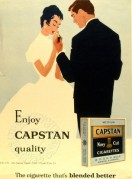 Advert for Capstan Cigarettes