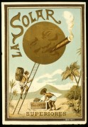 Poster for La Solar Cigars