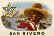 San Rivero Cigar Label