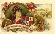 La Rosa Cigar Label