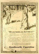 Advert for Kenilworth Cigarettes