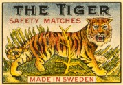 The Tiger Matchbox