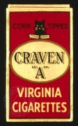 Craven A Cigarette Box