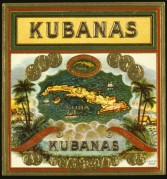 Kubanas Cigar Showcard