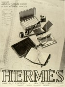 Hermes Pipe and Cigarettes Advert