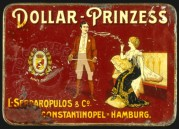 Dollar – Prinzess Cigarette Tin Lid