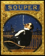 Souper Cigar Label