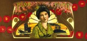 Madame Butterfly German Cigar Label