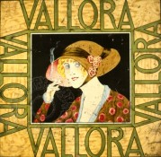 Vallora Cigarette Tin Lid