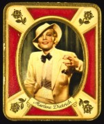 Marlene Dietrich German Cigarette Card