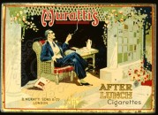 Muratti's After Lunch Cigarettes Showcard