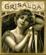 Crisalda German Cigar Label