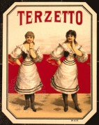 Terzetto Cigar Label