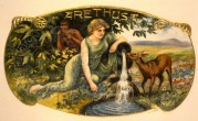 Arethusa Cigar Label