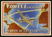 Advertisement for Cubana Airlines