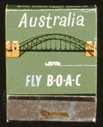 BOAC advert for flights to Australia