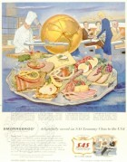 SAS advert for on-board catering