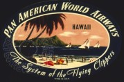 Pan American World Airways advert