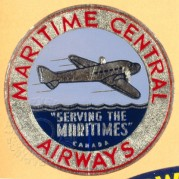 Maritime Central Airways badge