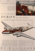 De Havilland Heron advert