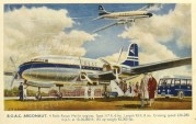 BOAC Argonaut advert