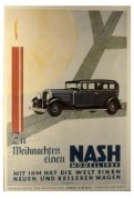 Motor advert. Nash model 1929