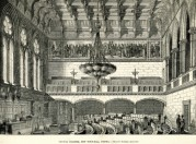 Council chamber in the new Town Hall, Vienna